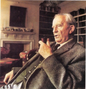 tolkien with pipe